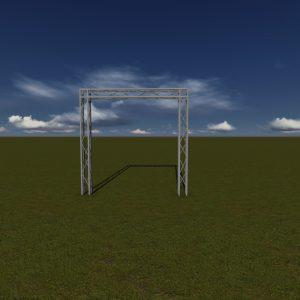 15X15 Goal Post