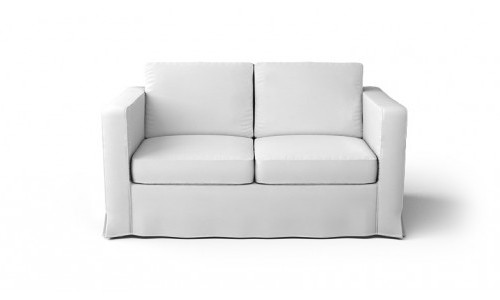 2 Seater White Couch
