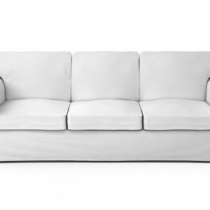 3 Seater White Couch