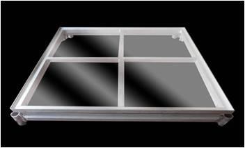 4 x 4  Acrylic Interlocking Decks