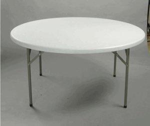 8'  Round Tressle table