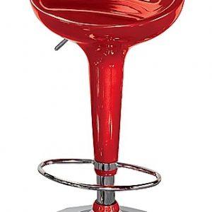 Red Hydraulic Stool