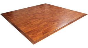 Wooden Interlocking Floor